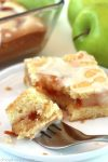french apple pie cookie bars recipe
