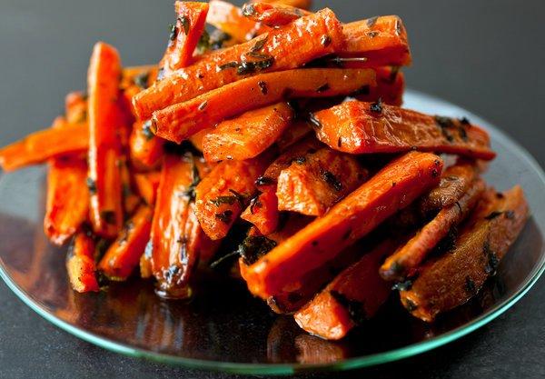 baked carrots recipe