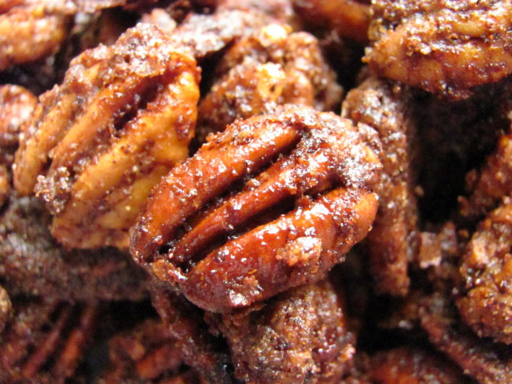 baked pecans recipe