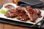 barbecued (sweet and sour) pork chops (ribs) recipe