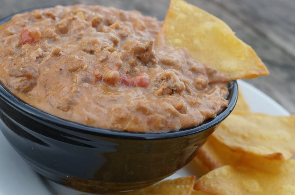 beef & bean dip recipe