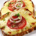 broiled open-faced sandwiches recipe