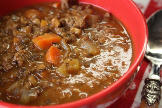 captain's soup recipe