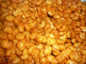 carmel puffcorn recipe