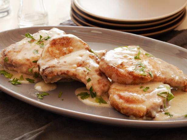 cheesy pork chops recipe