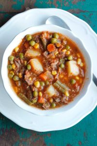 Hamburger Chowder