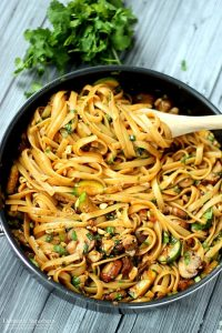 one pot spicy thai noodles recipe