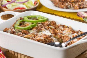 stuffed-pepper casserole