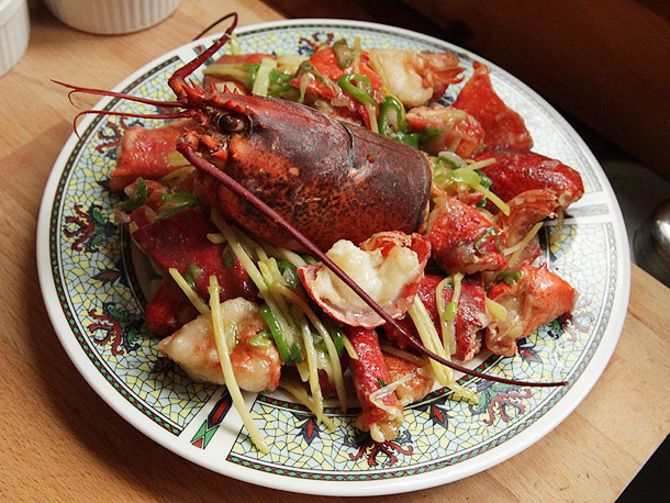 lobster cantonese recipe