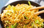 chow main recipe