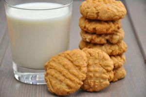 crunchy peanut butter cookies recipe
