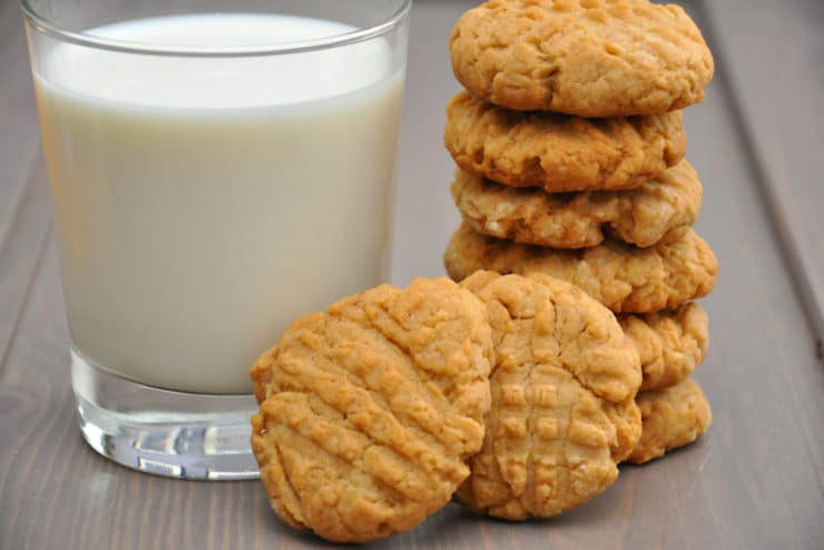 crunchy peanut butter cookies recipe