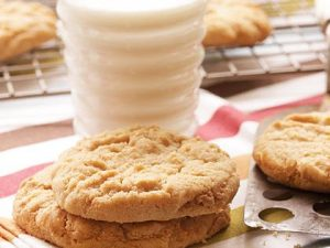 double peanut butter cookies recipe