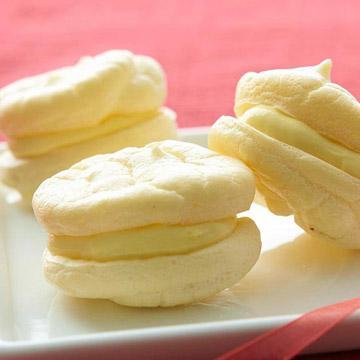 lemon cream cuplets recipe
