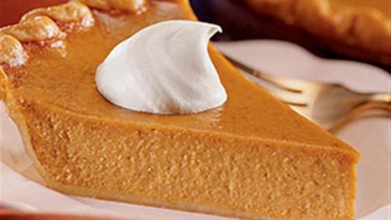 libby's famous pumpkin pie recipe