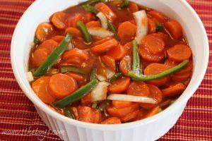 marinated carrots recipe