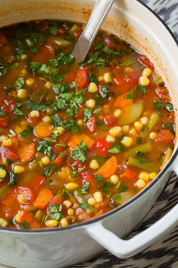 mexican veggie soup recipe