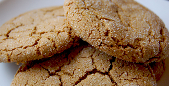 molasses crinkles recipe