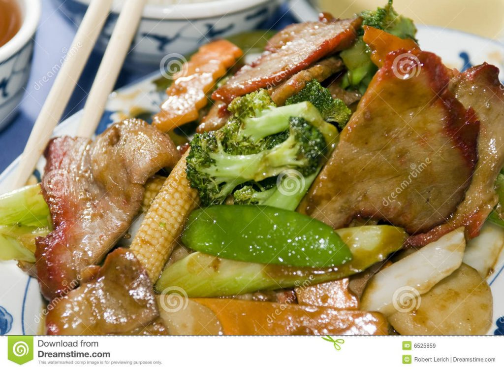 roast pork with mixed veggies recipe