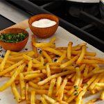 bistro shoestring potatoes recipe