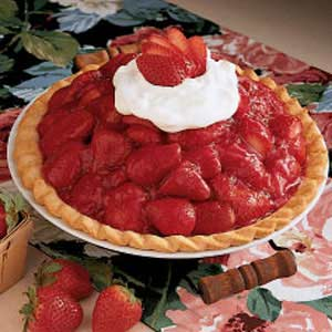 sky high strawberry pie recipe