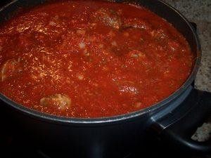 spaghetti sauce (szubski's long sauce) recipe