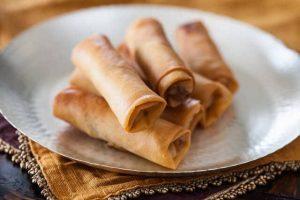 spring rolls - egg rolls recipe