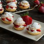 strawberries 'n cream puff ring