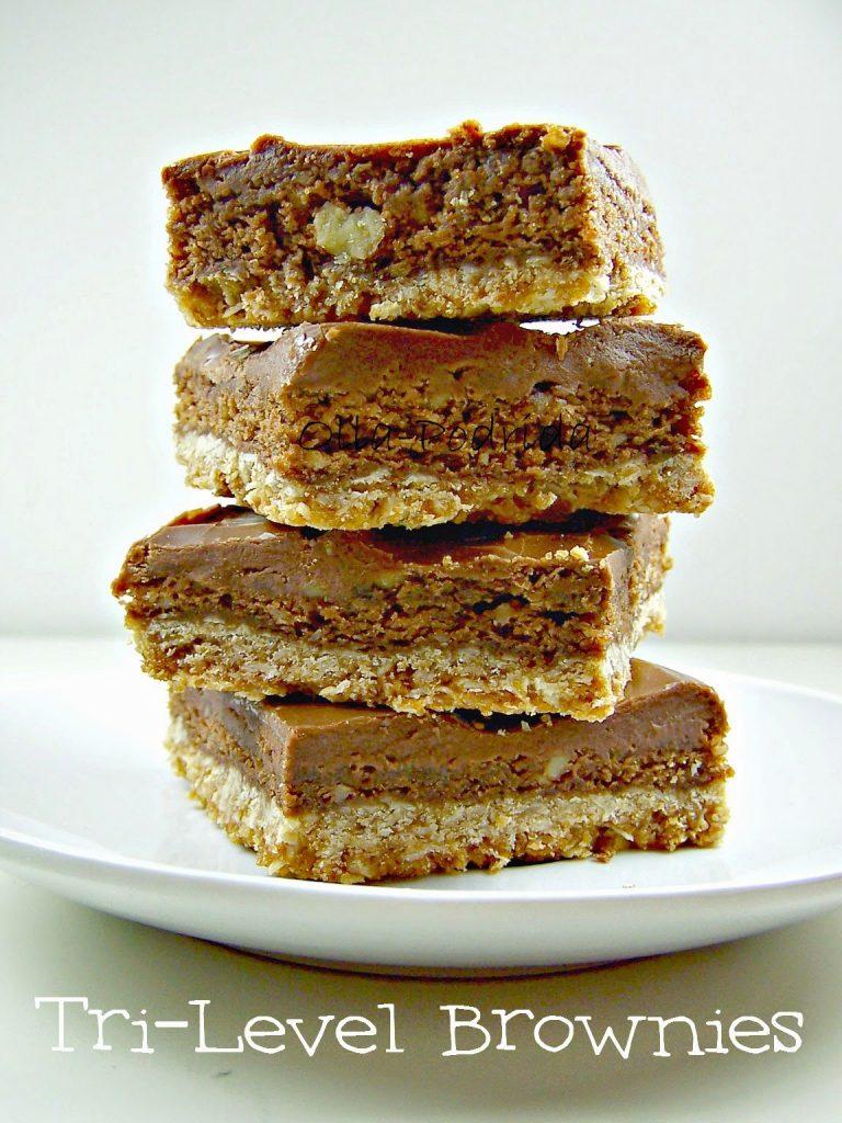 tri level brownies