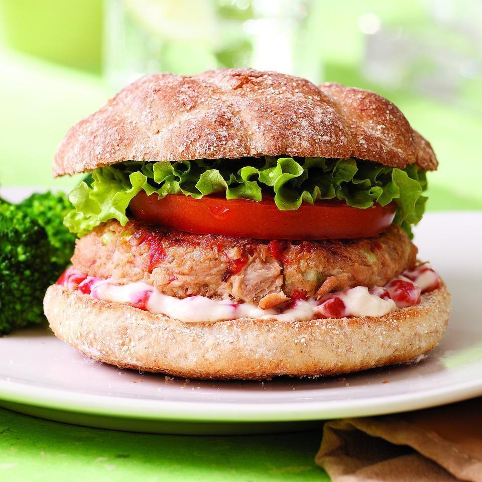 tuna fish burger